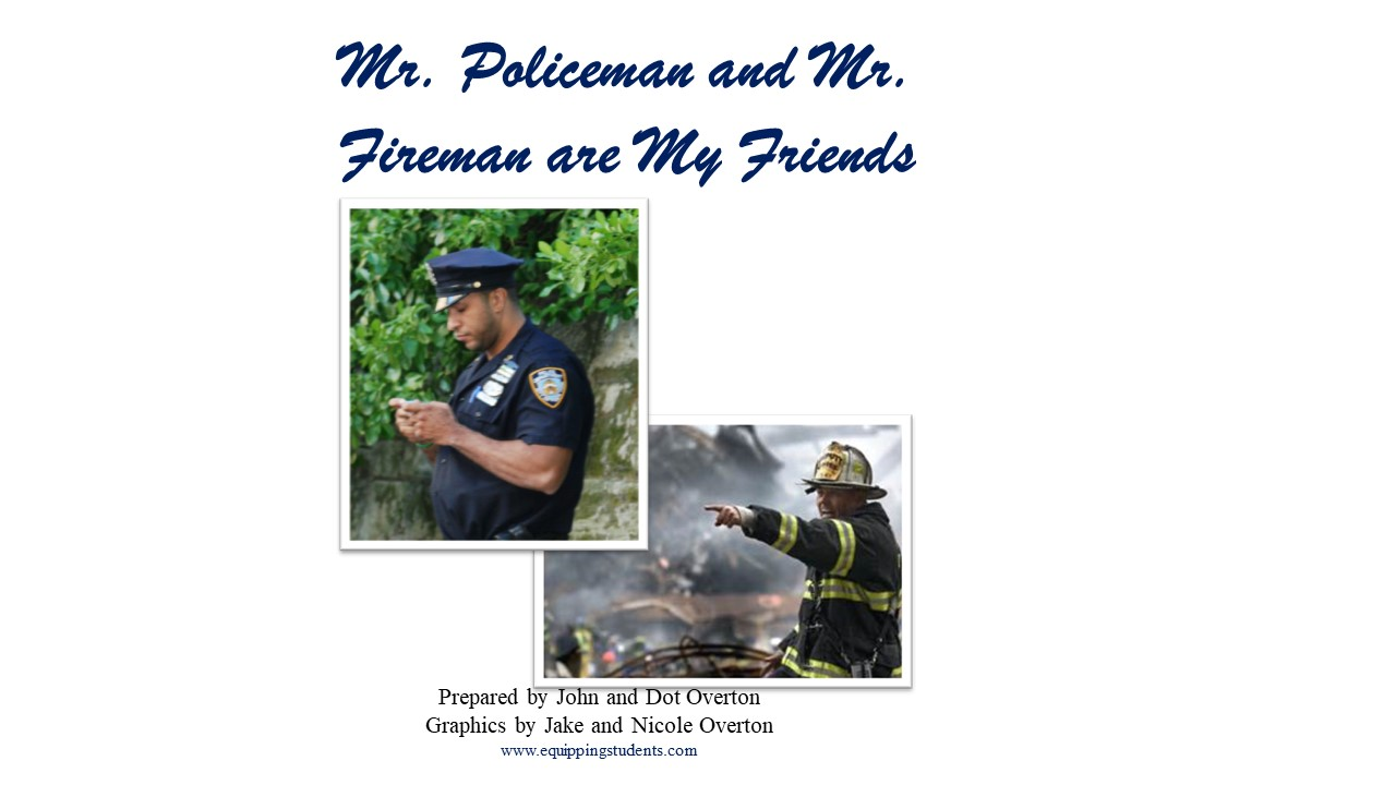 Police and Fireman Friends