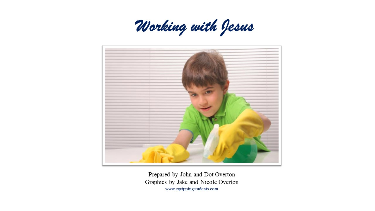 Working with Jesus Page 1
